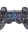Bluetooth Manettes pour Sony PS3 Bluetooth Manette de jeu Rechargeable Sans fil 19-24h