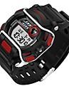 SANDA Дети Спортивные часы Армейские часы Смарт-часы Модные часы Наручные часыLED Секундомер Защита от влаги С двумя часовыми поясами