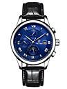Tevise Men\'s Women\'s Couple\'s Sport Watch Skeleton Watch Fashion Watch Mechanical WatchCalendar Water Resistant / Water Proof Luminous