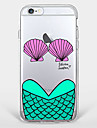 Для Ультратонкий / Прозрачный / С узором Кейс для Задняя крышка Кейс для Слова / выражения Мягкий TPU AppleiPhone 7 Plus / iPhone 7 /