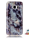 For Samsung Galaxy S7 S6 edge Cover Case Marble Pattern Painting IMD Technology Tpu Material Phone Shell And Dust Plug Combination