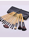 15pcs Makeup Brushes Professional Makeup Brush Set Synthetic Hair Portable / Travel Wood