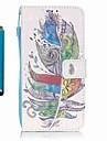 Para Carteira / Porta-Cartao / Com Suporte Capinha Corpo Inteiro Capinha Pena Rigida Couro PU Samsung A5(2016) / A3(2016)