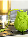 Silicone Creative Kitchen Gadget / Tea Owl 1pc Filter / Tea Strainer / Daily