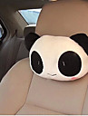 Car Headrest  Cute Cartoon Panda  Plush Car With Pillow  The Head Pillow Cushion and Pillow For Car  (Random Type)