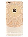 Pour iPhone 7 iPhone 6 Etuis coque Motif Coque Arriere Coque Mandala Dur Acrylique pour Apple iPhone 7 iPhone 6s iphone 6