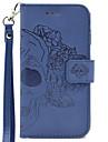 Кейс для Назначение SSamsung Galaxy S7 edge S7 Бумажник для карт Кошелек Рельефный Чехол Черепа Твердый Кожа PU для S7 edge S7 S6 edge S6