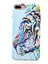 Pour iPhone X iPhone 8 Etuis coque Phosphorescent Motif Coque Arriere Coque Animal Dur Polycarbonate pour Apple iPhone X iPhone 8 Plus