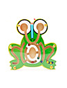 Building Blocks Maze & Sequential Puzzles Maze Educational Toy Toys Novelty Frog Wood Cartoon 1 Pieces Kids Birthday Children\'s Day Gift