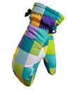 лыжные перчатки Полный палец Жен. / Муж. Спортивные перчатки Снегозащитный  Перчатки Сноубординг Полиэстер