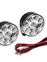 5W 400-450LM Белый свет Светодиодные лампы для автомобилей Дневные ходовые огни (12 В постоянного тока, 1 пара)