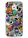 Case For Samsung Galaxy S7 edge S7 Glow in the Dark IMD Pattern Back Cover Cartoon Soft TPU for S7 edge S7 S6 edge S6 S5