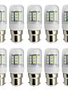 B22 LED лампы типа Корн T 27 SMD 5730 280 lm Тёплый белый Холодный белый К Декоративная AC 85-265 V