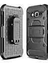 Coque Pour Samsung Galaxy J7 Prime Antichoc Avec Support Coque Integrale Couleur unie Dur PC pour J7 Prime