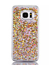 Case For Samsung Galaxy S7 edge S7 Flowing Liquid Back Cover Glitter Shine Hard PC for S7 edge S7 S6 edge plus S6 edge S6 S5