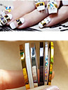 5 Manucure De oration strass Perles Maquillage cosmetique Nail Art Design