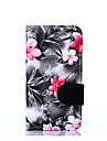 For Nokia Lumia 630 Flowers PU Leather Case Cases / Covers for Nokia