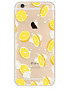 Coque Pour Apple iPhone 7 / iPhone 7 Plus / iPhone 6 Ultrafine / Motif Coque Nourriture / Fruit Flexible TPU pour iPhone 7 Plus / iPhone 7 / iPhone 6s Plus