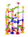 Blocs de Construction Jeux de Societe Sets de Circuits a Billes Marble Run Jouets Nouveautes Cylindrique Haute qualite 105 Pieces Garcon