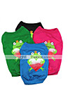 Cat Dog Shirt / T-Shirt Dog Clothes Cartoon Black Red Green Blue Cotton Costume For Pets