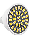 YWXLIGHT® 1pc 5W 500-700 lm GU5.3(MR16) Lampadas de Foco de LED MR16 32 leds SMD 5733 Decorativa Branco Quente Branco Frio AC 110-130V AC