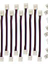 ZDM® 10pcs Cabo eletrico Plastico