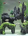 Decoration d\'aquarium Back Row Centre Bridge Decor Ornements Non toxique & Sans Gout Resine