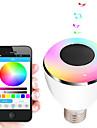 bl08a умного Bluetooth динамик лампа 4,0 музыки водить лампу Е27 умного свет праздник украшения партии подарок