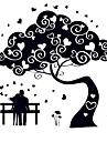 ботанический Романтика люди Наклейки Простые наклейки Светящиеся наклейки Декоративные наклейки на стены,Бумага Винил материалУкрашение