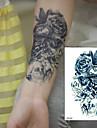 1 pcs dočasné tetování Voděodolné / 3D paže / Hrudník Papír Tetovací nálepky