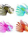 Оформление аквариума Искусственная рыбка Фосфоресцирующий Силикон