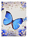 Case For Apple iPad 4/3/2 iPad Air 2 iPad Air with Stand Pattern Full Body Cases Butterfly Hard PU Leather for iPad 4/3/2 iPad Air iPad