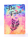 Case For Apple Card Holder / Auto Sleep / Wake / Embossed Full Body Cases Feathers Hard PU Leather for iPad Air / iPad 4/3/2 / iPad Air 2