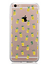 Case For Apple iPhone 7 Plus iPhone 7 Pattern Back Cover Fruit Soft TPU for iPhone 7 Plus iPhone 7 iPhone 6s Plus iPhone 6s iPhone 6 Plus