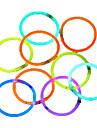 100pcs batons lumineux de prechauffage parti batons brillants couleur anneaux de fluorescence