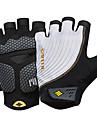 SANTIC Спортивные перчатки Перчатки для велосипедистов Пригодно для носки Дышащий Защитный Без пальцев Терилен Эластан Велосипедный спорт