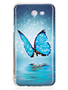For Case Cover Glow in the Dark IMD Pattern Back Cover Case Butterfly Soft TPU for SamsungJ7 (2016) J7 Prime J7 J5 (2016) J5 Prime J5 J3