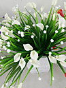 Artificial Flowers 1 Branch Modern Style Calla Lily Tabletop Flower