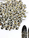About 500pcs/bag Manucure De oration strass Perles Maquillage cosmetique Nail Art Design