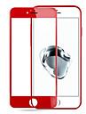 지문에 대한 사과 iphone7 3D 빨간색 강화 유리 화면 강철 폭발 방지 막에 대한