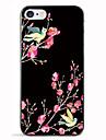 Pour Motif Coque Coque Arriere Coque Fleur Flexible PUT pour AppleiPhone 7 Plus iPhone 7 iPhone 6s Plus iPhone 6 Plus iPhone 6s iphone 6