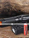 UltraFire W-878 LED Flashlights / Torch LED 1800 lm 5 Mode Cree XM-L T6 with Batteries and Charger Adjustable Focus Camping/Hiking/Caving