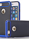Case For Apple iPhone 7 Plus iPhone 7 Shockproof Back Cover Solid Color Hard Carbon Fiber for iPhone 7 Plus iPhone 7 iPhone 6s Plus