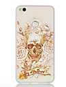 For Huawei P8Lite(2017) P8Lie Skeleton Pattern Relief Luminous TPU Material Phone Case Huawei Honor 5X Honor 8 P9 P9Lite Y5II Y6II Nova