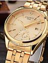 Men\'s Dress Watch Fashion Watch Wrist watch Simulated Diamond Watch Japanese Quartz Calendar / date / day Imitation Diamond Alloy Band