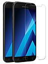 pour Samsung Galaxy a5 (2017) protection d\'ecran avant en verre trempe 1 pc