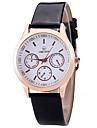 아가씨들 패션 시계 손목 시계 캐쥬얼 시계 석영 PU 밴드 참 멋진 캐쥬얼 창의적 럭셔리 우아한 블랙 화이트 브라운 화이트 블랙 브라운