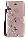For Samsung Galaxy A3 2017 A5 2017 Card Holder Wallet with Stand Flip Embossed Case Full Body Case Flower Hard PU Leather for A7 2017 A510 A310 A5 A3