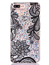 For iPhone 8 iPhone 8 Plus Case Cover Flowing Liquid Transparent Back Cover Case Glitter Shine Hard PC for Apple iPhone 8 Plus iPhone 8