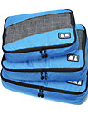 3 PCS Travel Bag Travel Luggage Organizer / Packing Organizer Portable Foldable Durable Large Capacity Travel Storage Luggage Accessory
